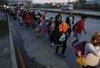 Más de mil hondureños inician la Caminata del Migrante con rumbo a EEUU