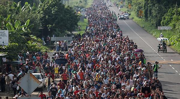 Estados Unidos en emergencia nacional por caravana de migrantes