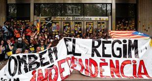 El 1-O transcurre entre problemas de movilidad y el rechazo del gobierno de Sánchez/Reuters