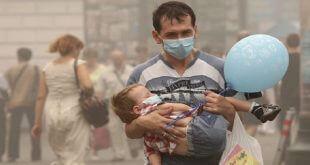 La OMS asegura que 600.000 niños murieron en 2016 por contaminación del aire