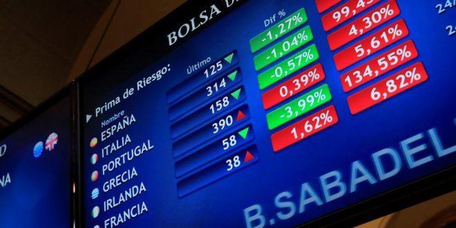 El IBex sigue cayendo bajo el signo de la volatilidad en las bolsas