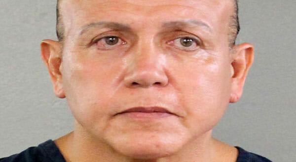 Cesar Sayoc, presunto responsable del envío de las bombas, tiene un amplio expediente criminal.