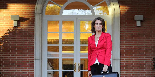 La ministra de Energía y Medio Ambiente de España, Teresa Ribera, llega a una reunión de gabinete en el Palacio de Moncloa en Madrid, España, el 5 de octubre de 2018. REUTERS / Sergio Perez