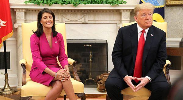 Renunció la embajadora de EEUU ante la ONU, Nikki Haley/Reuters