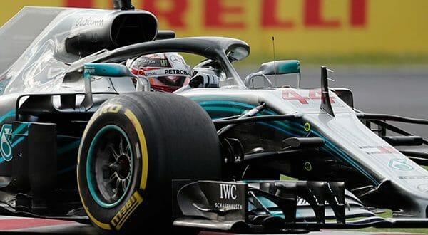 El líder de Fórmula Uno, Lewis Hamilton ganó la pole position para el Gran Premio de Japón