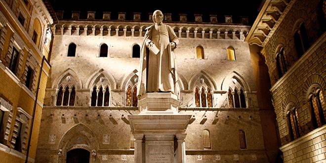 La sede de Monte dei Paschi en Siena, Italia. REUTERS/Stefano Rellandini