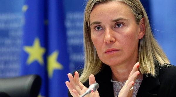 La alta representante de la UE para la Política Exterior, Federica Mogherini, rechazó la decisión de la ANC