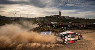 Ott Tänak ha comenzado muy fuerte el Rally RACC Catalunya