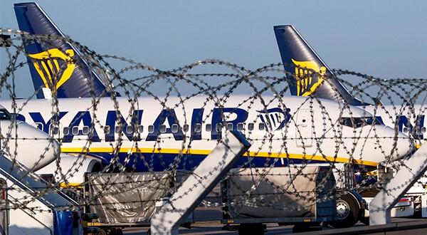 Desde que las huelgas se multiplicaron en la aerolínea irlandesa las acciones han caído en un 27 por ciento/Reuters
