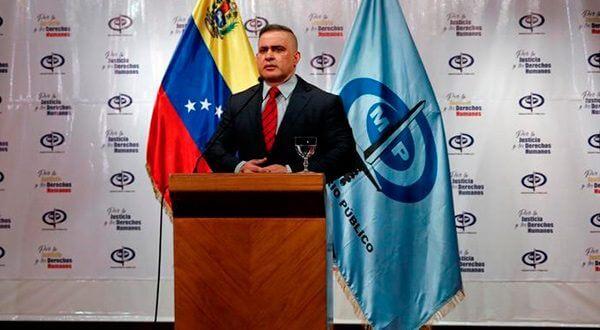 El fiscal general de Venezuela, Tarek William Saab, calificó de suicidio la muerte del concejal venezolano Fernando Albán/Reuters