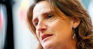 La ministra española recibió un premio gracias a sus esfuerzos por reforzar la acción climática en España