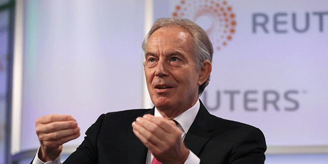 El que fuera Primer Ministro de Reino Unido, Tony Blair, en un evento de Reuters en Londres, Reino Unido, 11 de octubre de 2018. REUTERS/Simon Dawson