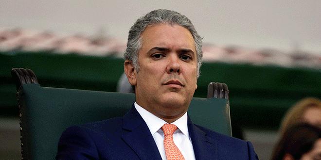 El presidente de Colombia, Iván Duque, durante una ceremonia en Bogotá, Agosto 14, 2018. REUTERS/Luisa Gonzalez