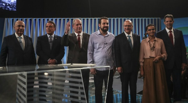 Este viernes se realizó el último debate de candidatos antes de las elecciones presidenciales de Brasil