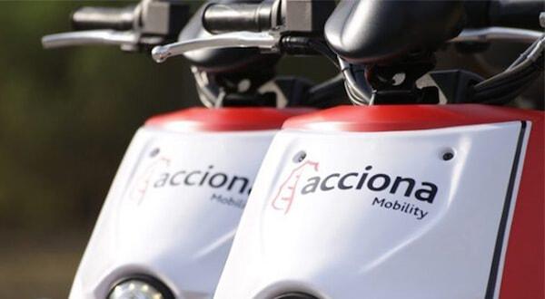 Acciona lanza flota de 1.000 motos eléctricas en Madrid