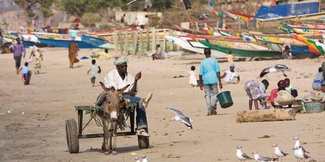Imagen de una playa de Gambia, un país que ha abolido la pena de muerte.