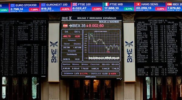 La preocupación sobre Italia, la incertidumbre en torno al Brexit y los vaivenes de la guerra comercial entre Etados Unidos y China mantienen la tendencia a la baja del Ibex 35