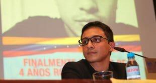 """El activista Lorent Saleh asegura que """"el liderazgo en Venezuela está preso en las cárceles"""""""