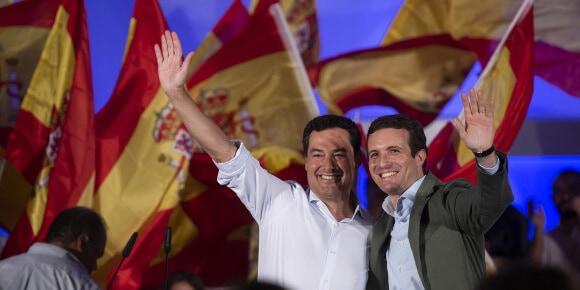 """Pablo Casado: """"El PSOE no ha dado nada a Andalucía"""""""