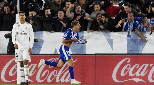 La mala suerte del equipo merengue continúa. ElReal Madrid cae ante al Alavés 1-0