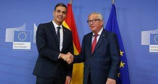 Sánchez busca el apoyo de Europa a sus presupuestos