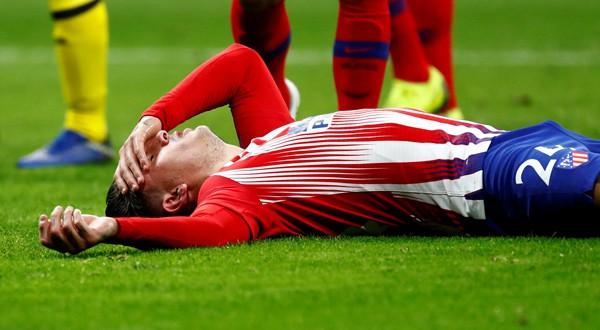 lesionados del Atleti