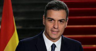 """Jefe del Gobierno de España Pedro Sánchez a las tropas en el exterior: """"Vuelvan sanos y salvos a casa con la satisfacción del deber cumplido""""/Archivo"""