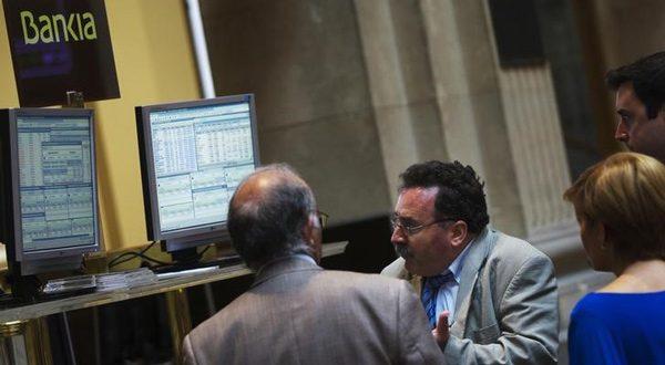 mercado español registraba pérdidas
