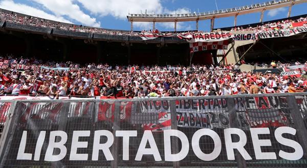 El River Plate apelará para recuperar la localía del partido de vuelta (REUTERS)