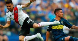 Los máximos rivales se verán las caras en el partido de vuelta en el 'Monumental' de Núñez. REUTERS