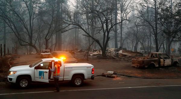 Incendios en California dejan 63 muertos y más de 600 desaparecidos
