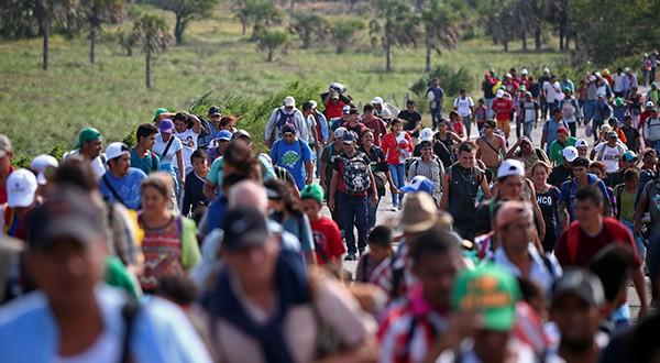 Caravanas amenazan acercamiento entre EEUU y México. La inmigración ilegal se ha mantenido en el centro de los debates electorales/Reuters