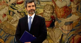 El presidente actual del Tribunal Supremo y del Consejo General de Poder Judicial, Carlos Lesmes Serrano, cederá el poder al juez Manuel Marchena/Reuters