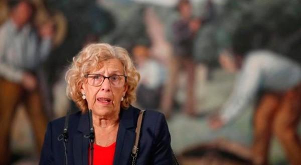 Luego del suicidio de una mujera en Chamberí, los desahucios por impago de alquiler regresan a las prioridades de la alcaldesa de Madrid, Manuela Carmena/Cortesía ABC.es