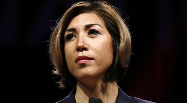 Candidatos de grupos minoritarios en elecciones en EEUU. Imagen de archivo de la demócrata Paulette Jordan, candidata a gobernadora de Idaho/Reuters/Jonathan Bachman
