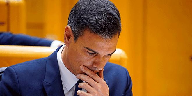 Pedro Sánchez, asiste a una sesión del Senado en Madrid, España, el 20 de noviembre de 2018. REUTERS / Juan Medina