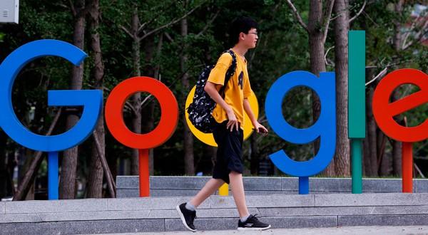 Logo de Google en una oficina en Pekín,. REUTERS/Thomas Peter