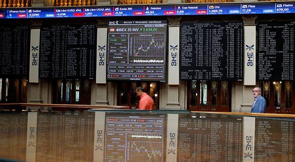 El Ibex 35 subió con el sector bancario dándole un importante apoyo a la tendencia con alzas próximas al 1,8 por ciento en Santander y BBVA/Reuters