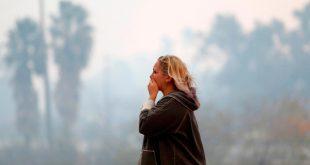 Incendios en California han dejado 9 muertos y destrucción. REUTERS/ Stephen Lam