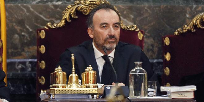 Marchena continuará al frente del juicio contra los políticos que lideraron el proceso independentista de Cataluña. Foto cortesía.