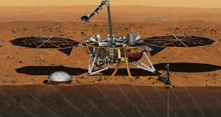 La misión InSight de la NASA aterrizó en Marte. Se trata del primer vehículo espacial construido para explorar el interior profundo de otro mundo/Reuters