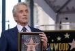 Michael Douglas recibió su estrella en el Paseo de la Fama de Hollywood
