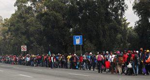 Pese a las advertencias del presidente Donald Trump, los migrantes avanzan hacia EEUU y se estima que en los próximos días arriben a ciudades mexicanas fronterizas/Reuters
