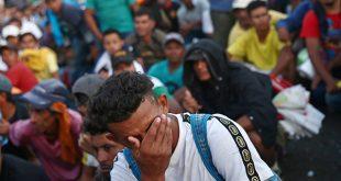 Estados Unidos refuerza frontera por llegada de migrantes centroamericanos que partieron hace un mes del norte de Honduras/Reuters