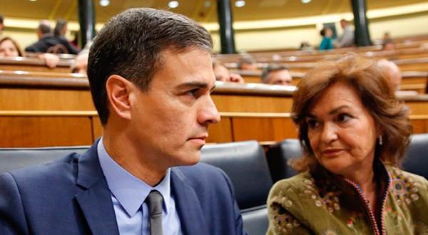 """Los PGE son de """"sentido común"""", dijo Pedro Sánchez a Casado"""
