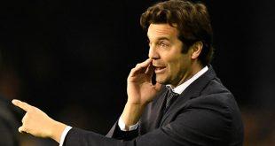 Santiago Solari entrenador permanente del Real Madrid, cuyo nombramiento fue aprobado por la Real Federación Española de Fútbol/Reuters