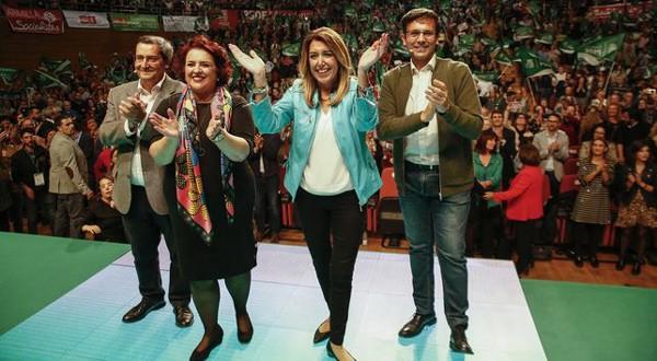 Elecciones andaluzas: todos contra Susana Díaz