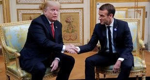 Los presidentes Donald Trump y Emmanuel Macron coinciden en que Europa debe asumir una cuota mayor en los costes de defensa de la OTAN/Reuters