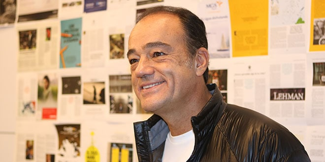Alejandro Zozaya en la redacción de Cambio16. Foto: Juli Amadeu Àrias / Cambio16
