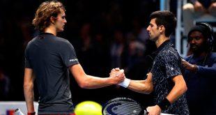 Djokovic y Zverev se enfrentan este domingo en la final de los Masters ATP de Londres / SkySports